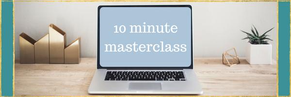 10 MINUTE MASTERCLASS; WHITE NOISE 101